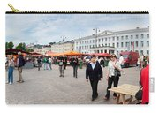 Panorama Of Helsinki Inner Harbor Panorama Carry-all Pouch