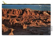 Panorama Of Hoodoos At Sunset Goblin Valley State Park Utah Carry-all Pouch