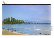 Panorama Of Pacific Coast On Vancouver Island Carry-all Pouch by Elena Elisseeva
