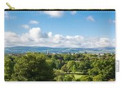 Panorama Of Phoenix Park And Wicklow Mountains Carry-all Pouch