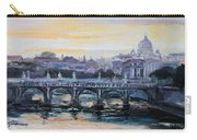 Panorama Of Rome Carry-all Pouch