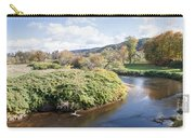 Panorama Of The Little River At Stowe Vermont Carry-all Pouch