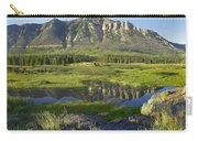 Panorama Of Windy Mountain Wyoming Carry-all Pouch