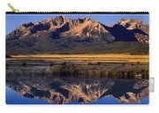 Panorama Reflections Sawtooth Mountains Nra Idaho Carry-all Pouch
