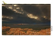 Panorama Storm Clouds Over Bryce Canyon National Park Utah Carry-all Pouch