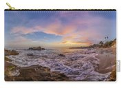 Panorama The Whole Way Round The Cove Carry-all Pouch