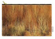 Panorama Winter Trees Color Carry-all Pouch