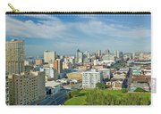 Panoramic Aerial View Of Durban, South Carry-all Pouch