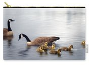 Panoramic Goose Family Outing Carry-all Pouch