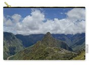 Panoramic Machu Picchu Carry-all Pouch