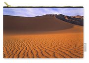 Panoramic Mesquite Sand Dune Patterns Death Valley National Park Carry-all Pouch
