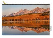 Panoramic Of Little Redfish Lake Carry-all Pouch