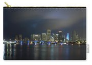 Panoramic Of Miami Florida Carry-all Pouch