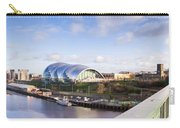Panoramic Of Newcastle And Gateshead Quayside Carry-all Pouch