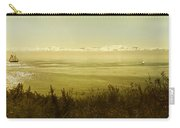 Panoramic Of Sailing Ship, Beacon Hill Carry-all Pouch