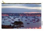 Panoramic Of The Marblehead Illumination Carry-all Pouch by Jeff Folger