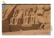 Panoramic Photograph Of Famous Egyptian Monument Carry-all Pouch