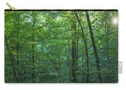 Panoramic Shot With Green Trees Carry-all Pouch