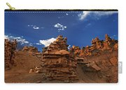 Panoramic Sunset Light On Sandstone Formations Fantasy Canyon  Carry-all Pouch