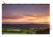 Panoramic Sunset Over England Carry-all Pouch