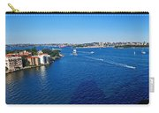 Panoramic Sydney Harbour Carry-all Pouch by Kaye Menner