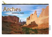 Panoramic View Of Arches National Park  Carry-all Pouch