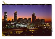 Panoramic View Of Atlanta Skyline Carry-all Pouch