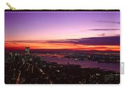 Panoramic View Of Empire State Carry-all Pouch