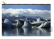 Panoramic View Of Icebergs And Glaciers Carry-all Pouch