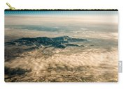 Panoramic View Of Landscape Of Mountain Range Carry-all Pouch