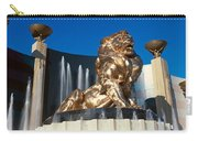 Panoramic View Of Mgm Lion And Mgm Carry-all Pouch
