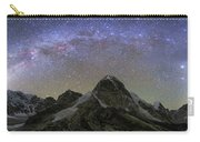 Panoramic View Of Mt. Everest, Khumbu Carry-all Pouch