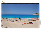 Panoramic View Of Porto Katsiki Beach Carry-all Pouch