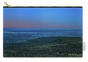 Panoramic View Overlooking Anchorage Carry-all Pouch