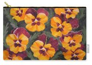 Pansies Are For Thoughts Carry-all Pouch