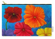 Pansies For Rosalina Carry-all Pouch