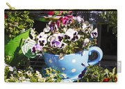 Cup Of Pansies Carry-all Pouch