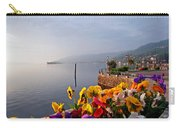 Pansies On Lake Maggiore Carry-all Pouch