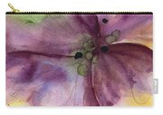Pansy 3 Carry-all Pouch