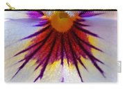 Pansy Abstract 1 Carry-all Pouch