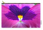 Pansy Abstract 3 Carry-all Pouch