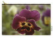Pansy Beauty Photograph Carry-all Pouch