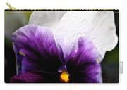 Pansy Breezes Carry-all Pouch