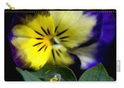 Pansy Close Up Carry-all Pouch