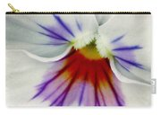 Pansy Flower 11 Carry-all Pouch