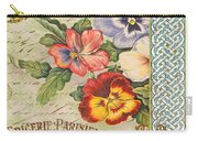 Pansy Garden-b Carry-all Pouch