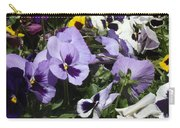 Pansy Carry-all Pouch