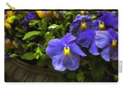 Pansy Planter Carry-all Pouch