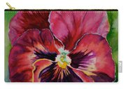 Pansy Play Carry-all Pouch