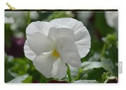 Pansy Purity Carry-all Pouch